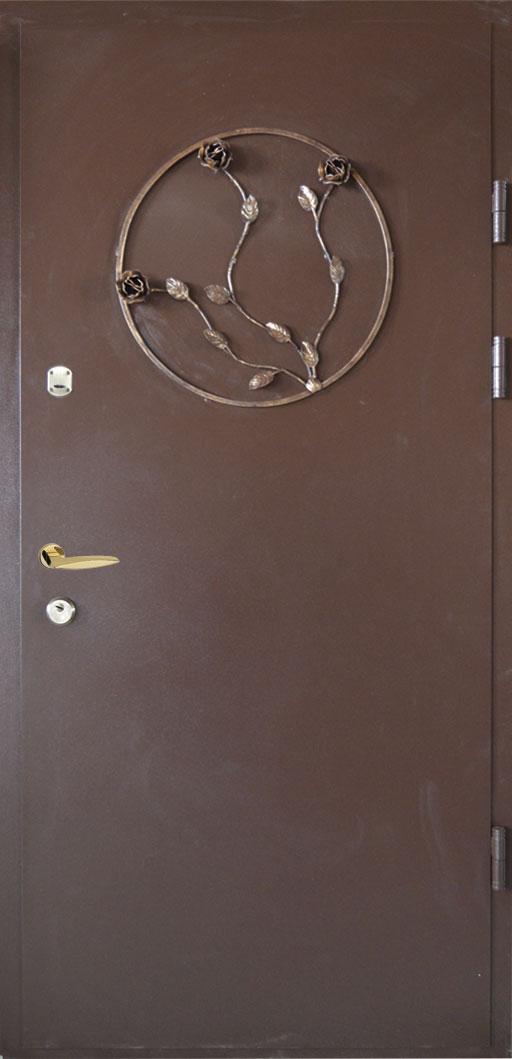 Двері броньовані, металеві