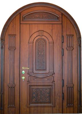 Двері вхідні трьохполі, глухі