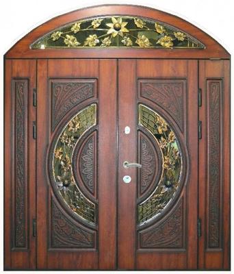 Двері вхідні, чотирьохполі