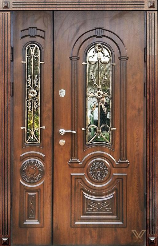 Двери входные, двуполые