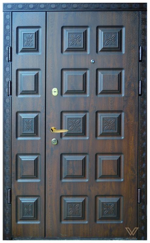 Двері двополі, глухі