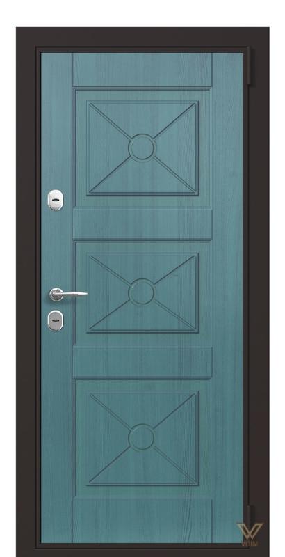 Двері вхідні в квартиру, Ціан структура
