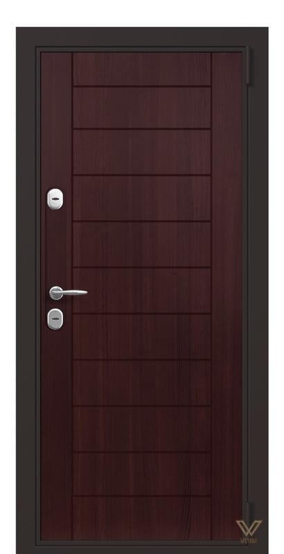 Двері вхідні, в квартиру, Махонь