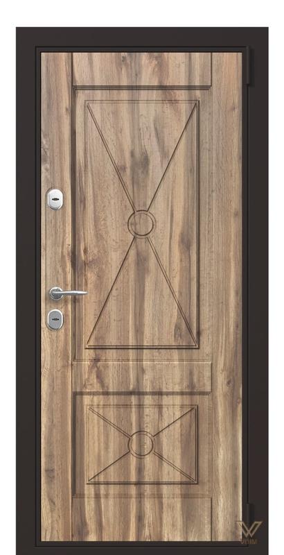 Двері вхідні в квартиру, Старе дерево
