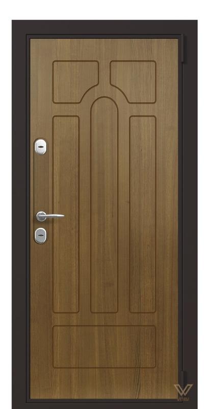 Квартирні двері, Дуб рустік