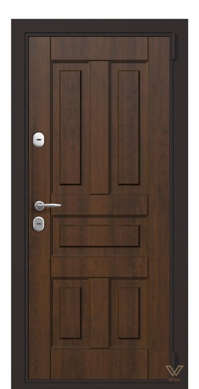 Двері вхідні в квартиру, Горіх лісовий
