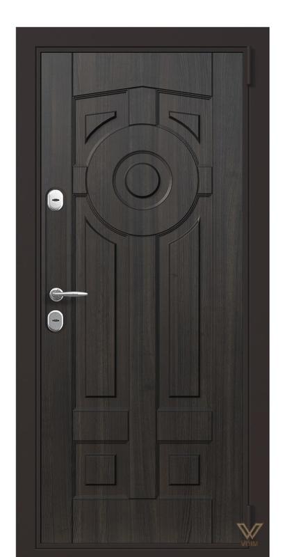 Двері вхідні в квартиру, Венге