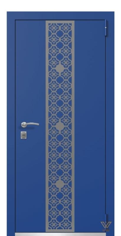 Двері металеві, сині