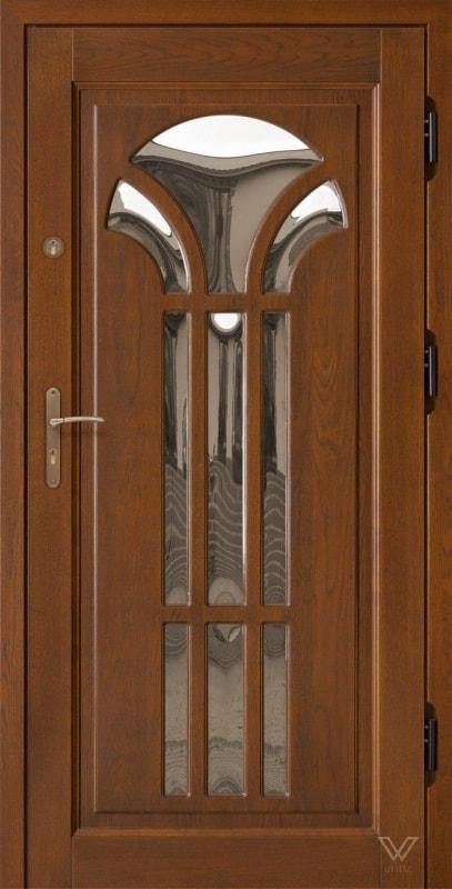 Двері вхідні, однополі зі склопакетом